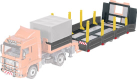Siku 6714 Zubehörset für SIKUCONTROL Tieflader und Zugmaschine