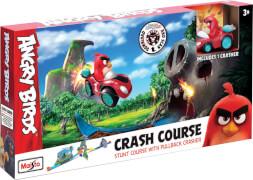 Angry Bird CRASH COURSE mit einem Fahrzeug 6,3cm, Box