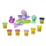 Hasbro B9027EU4 Play-Doh Trolls Friseursalon