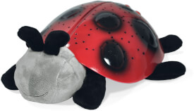 Nachtlicht Red Twilight Ladybug, Stoff, ab 3 Jahren
